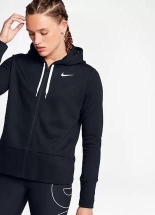 Крутое худи реглан батник женский мягкий из новых колекций nike dry hoodie fz