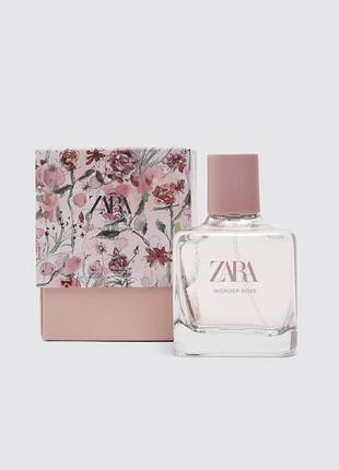 Духи zara wonder rose 100 ml