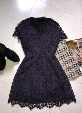 Мереживне літнє плаття