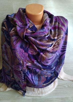 Палантин шаль шарф платок cynthia rowley