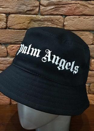 Панама брендовая angels чёрная