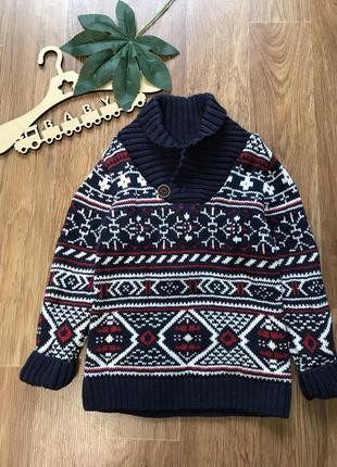 Крутой свитер кофта h&m 2-4 года
