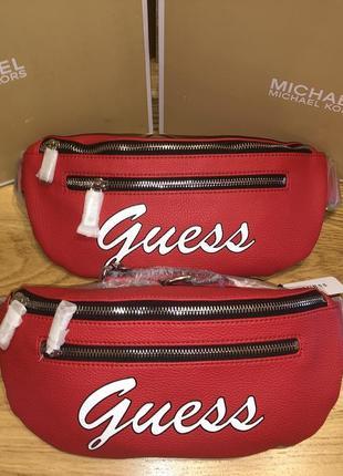 Бананка guess поясная сумка сумочка crossbody поясная на пояс сумка guess