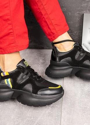 Женские кроссовки на массивной модошве❤