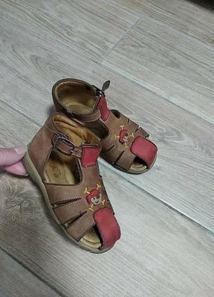 Bopy кожаные босоножки сандали