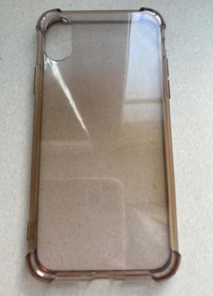Чехол бампер силиконовый на айфон 10 apple x