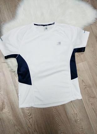Беговая футболка спортивная для занятий спортом лёгкая дышащая karrimor run