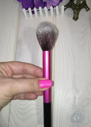 Кисть для макияжа для румян, пудры таклон rose/black probeauty