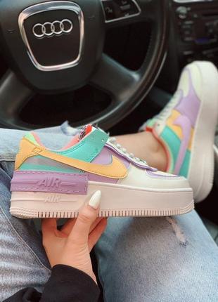 Nike air force shadow / женские кроссовки найк аер форс шадов