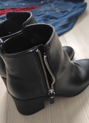Сапоги женские демисезонные на каблуке