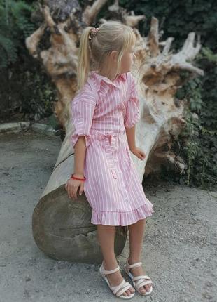 Платье рубашка детское