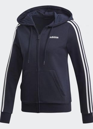 Женский джемпер adidas essentials 3-stripes w