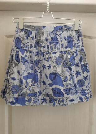 🔥акция🔥 юбка котоновая лёгкая sisley