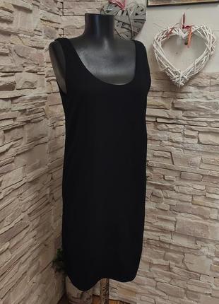 Стильная классная чёрная платье туника от mango