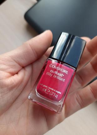 Covergirl outlast stay brilliant 92 лак для ногтей гель стойкий цвет