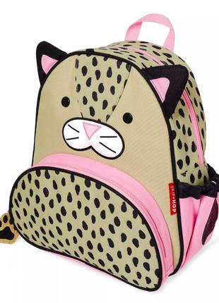 Рюкзак skiphop 2,5-7 лет америка скипхоп леопардик кошка-леопард