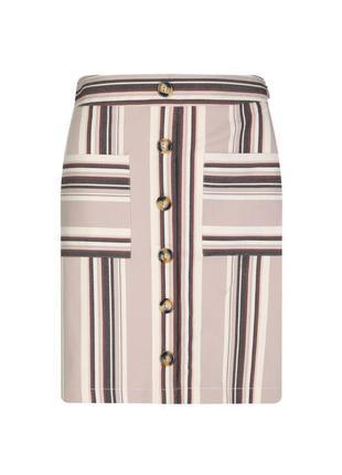 Базовая юбка трапеция с пуговицами от tally weijl