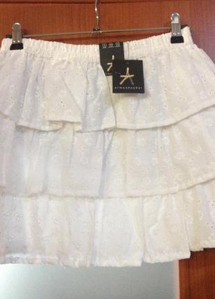 Белая юбка atmosphere