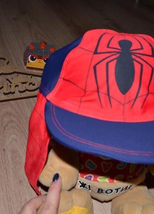 Кепка блайзер spider man защита от уф george 4-5л