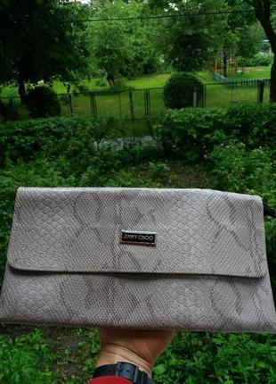 Клатч портмоне сумка jimmy choo