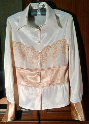 Элегантная блузка iren klairie (размер s-m)