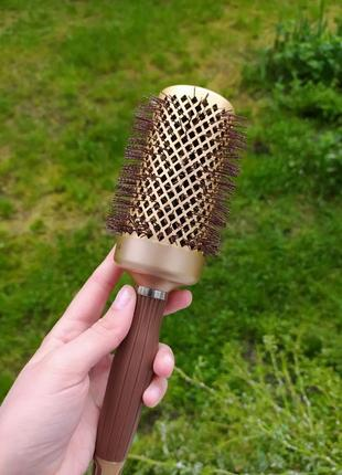 Браш брашинг круглая расческа для волос olivia garden 5