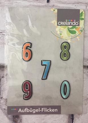 Наклейки для одежды набор рукоделия цифры ремонт одежды