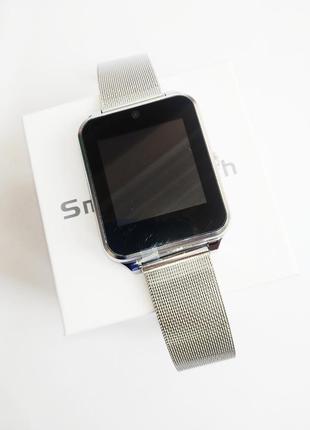 Smart watch z60 (умные часы) в цвете серебро