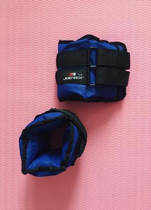 Японские утяжелители для рук и ног joerex по 2.267 кг груз гантели для домашних тренировок