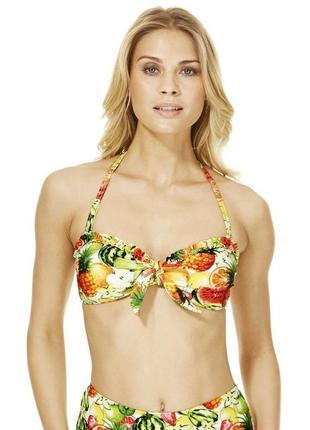 Верх от купальника с тропическим фруктовым принтом бренда f&f