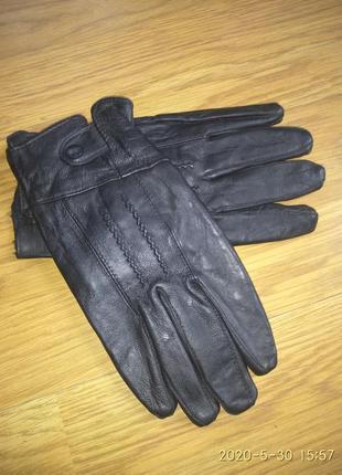 Шкіряні рукавички