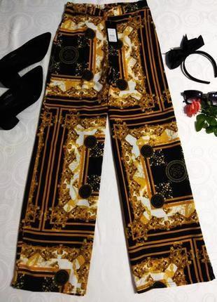 Легкие брюки в стиле versace,sale05.06