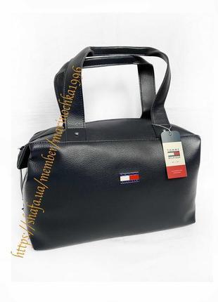 ⭐️ новая безумно классная качественная сумка tommy кожа pu / кроссбоди / шопер