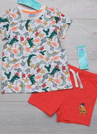 Костюм летний для мальчика футболка и шорты pepco польша