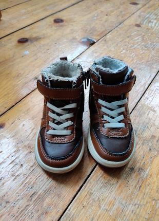 Детские ботинки h&m 22 р.