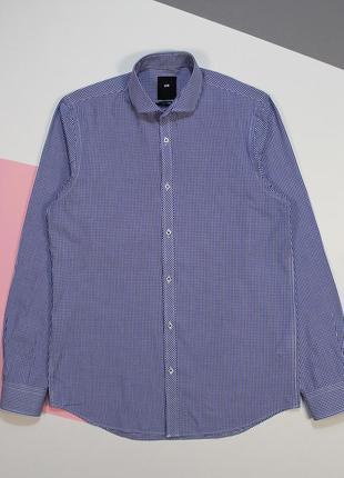 Четкая аккуратная приталенная рубашка от we-fashion