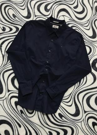 Базовая рубашка tommy hilfiger