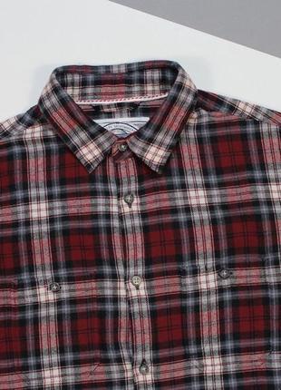 Классная мягкая байковая рубашка от red herring