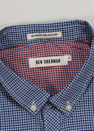 Четкая оригинальная рубашка в мелкую клетку от ben sherman