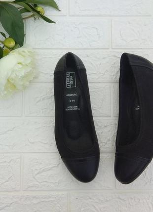 💙 туфли easy street р 38-38,5 кожа германия