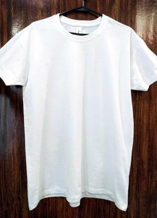Белая футболка унисекс