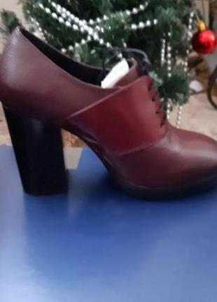 Шкіряні черевички італіч