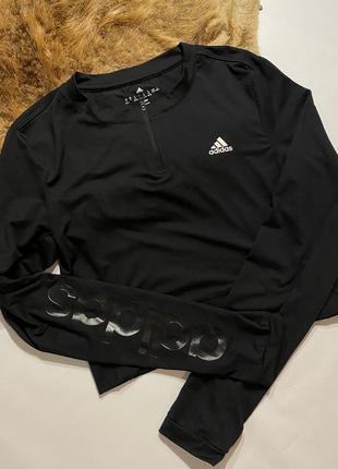 Кофта adidas кроп топ adidas свитшот adidas худи adidas топ adidas