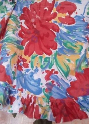 Красивая яркая штора- ламбрекен 2 метра 37 см/штора/тюль/занавеска/ламбрекен4 фото
