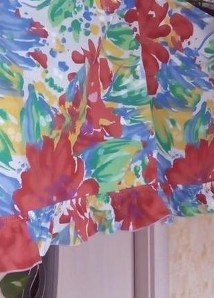 Красивая яркая штора- ламбрекен 2 метра 37 см/штора/тюль/занавеска/ламбрекен5 фото