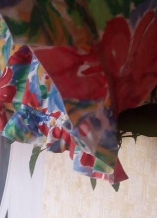 Красивая яркая штора- ламбрекен 2 метра 37 см/штора/тюль/занавеска/ламбрекен6 фото