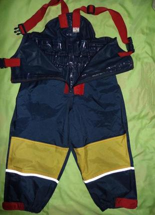 Детский осенний водостойкий комбинезон-formicula-116/6 лет-новый2 фото