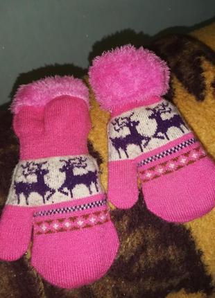 Перчатки руковички минетки