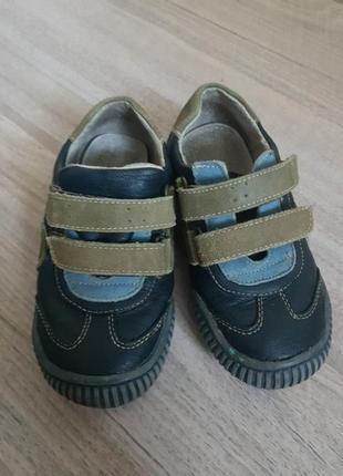 Суперские кожаные ботинки 27 размер