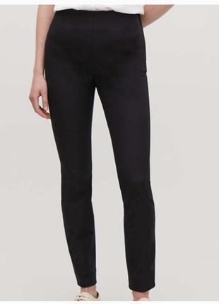Брендовые стрейчевые зауженные брюки от cos1 фото